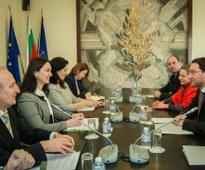 Meeting of Minister Daniel Mitov with the Chairman of the Committee of the Verkhovna Rada of Ukraine on Foreign Affairs Ganna Gopko