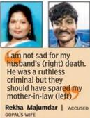 Mom trying to save accused son lynched