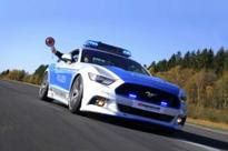 German Ford Mustang Cop Car Demands You Respect its Authority