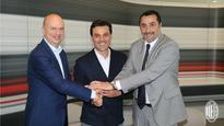 AC Milan coach Vincenzo Montella renews contract until 2019