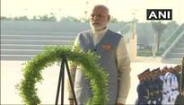 PM Modi pays tribute at Wahat Al Karama