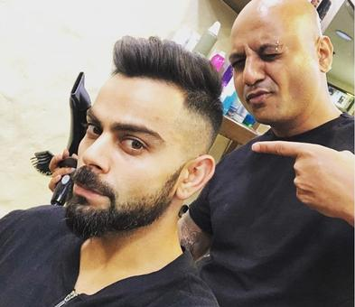 Do you like Captain Kohli's new look?