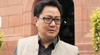 Central forces were deployed at NIT Srinagar after requests: Kiren Rijiju