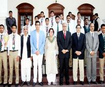 Punjab CM honours U-16 hockey team