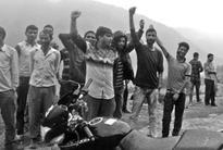 NPSU, YP protest against PMGSY for ignoring development of Bani