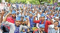 Dalits stage protest in Delhi again, demand release of Bhim Army chief
