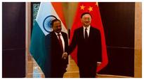 Ajit Doval meets China's top diplomat, discusses matters of mutual interest