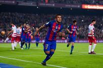 Barcelona midfielder Rafinha Alcantara ruled...