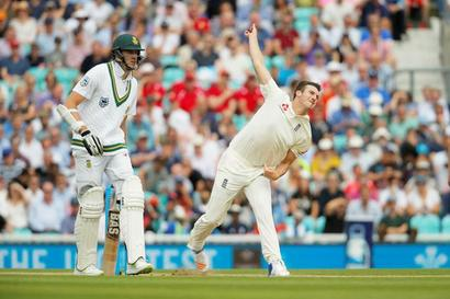 Oval Test: England thwarted by rain after Roland-Jones stars