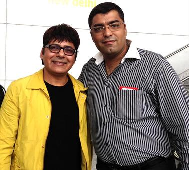 Spotted: Stand-up comedian Sudesh Lehri