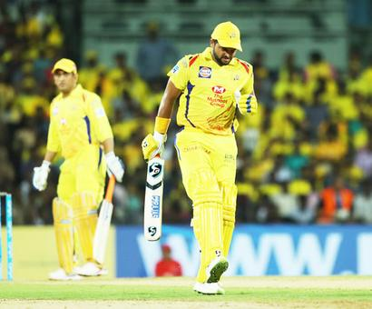 Raina to miss CSK's next two games with calf injury