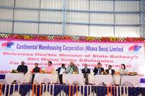 MoS Railway inaugurates a new private freight terminal in Gujarat