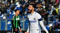 Inter win but it's a dull watch as Candreva downs Sassuolo