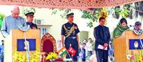 Mehbooba Mufti sworn in as Chief Minister