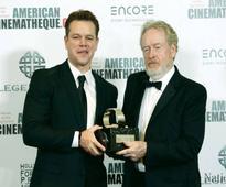 Hollywood stars honour Ridley Scott