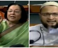 VIDEO: Hyderabad MP Owaisi clashes with Najma Heptulla in Lok Sabha