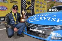 Johnson Drives Mopar Dodge Charger Funny Car to First Win of Season at Bristol Dragway in Fifth Consecutive All-Mopar Final