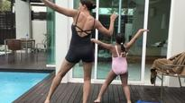 WATCH: Sushmita Sen and her daughter grooving on Ed Sheeran's 'Shape Of You' is the BEST thing you'll see today!