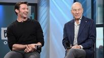 Carried in the arms of Hugh Jackman: New entry in Sir Patrick Stewart's CV?