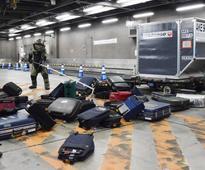 Antiterror drill held at Narita