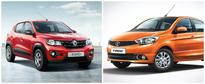Upcoming AMT cars in India: Tata Tiago, Renault Kwid, Tata Hexa and others