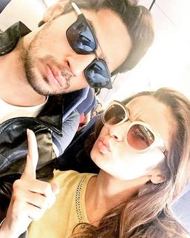 Sidharth takes pouting lessons from Alia