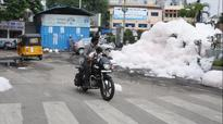 Hyderabad floods: Froth, fear after chemical nalas rise