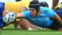 Rugby World Cup: Italy withdraw bid for 2023 tournament