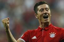 Lewandowski grabs treble as six-goal Bayern rout Werder