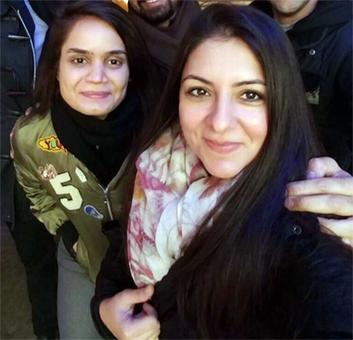 Will India allow Sarah Munir to attend Purvi Thacker's shaadi?