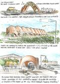 norman foster constructs droneport prototype at the venice architecture biennale