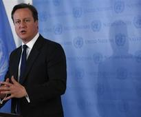 UK's Cameron committed to ruling in coalition until 2015 - spokesman