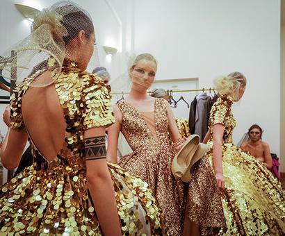 PIX: Models shine on the ramp at Kazakhstan Fashion Week