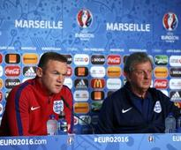 Euro 2016: Wayne Rooney, Jamie Vardy are close friends, says England manager Roy Hodgson