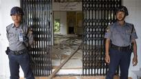Mob burns down mosque in Myanmar