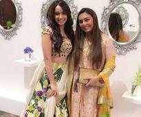 Shraddha Kapoor looks like a million bucks at her best friend Eshanka Wahi's wedding