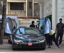 Shilpa Shetty buys new hot wheels!