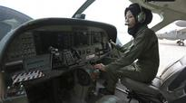 From refugee to military pilot: The story of Captain Safia Ferozi