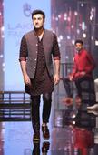 Lakme Fashion Week 2016: Dapper Ranbir Kapoor walks the ramp for Kunal Rawal