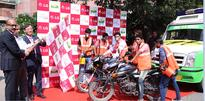 LG Electronics in collaboration with the Smile Foundation flagged off