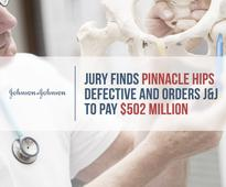 Jury Finds Pinnacle Hips Defective and Orders J&J to Pay $502M