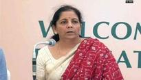 Nirmala Sitharaman to chair Board of Trade meeting in Delhi