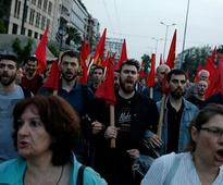 Americans are murderers: Massive protest in Athens against Syria airstrikes