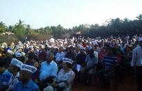 Kejriwal's first Goa rally in Benaulim: 'It's everyone else vs AAP'