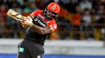 WATCH | Chris Gayle completes century of sixes in T20Is