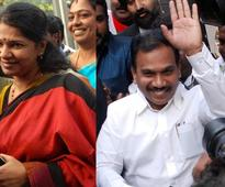 Raja says entire 2G case was cooked up; Kanimozhi feels justice delivered