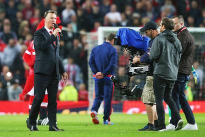Defiant Van Gaal booed by United fans after season finale