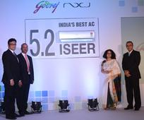 Godrej Appliances introduces Godrej NXW AC India's most energy efficient 5-star inverter AC with an ISEER of 5.2