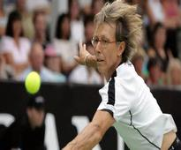 Navratilova urges renaming of Margaret Court Arena