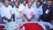 CPI leader K C Mathew laid to rest at Valiyachudukad